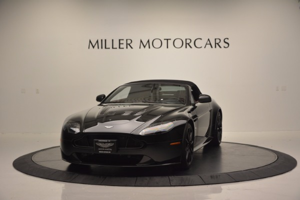 Used 2015 Aston Martin V12 Vantage S Roadster for sale Sold at Maserati of Westport in Westport CT 06880 13