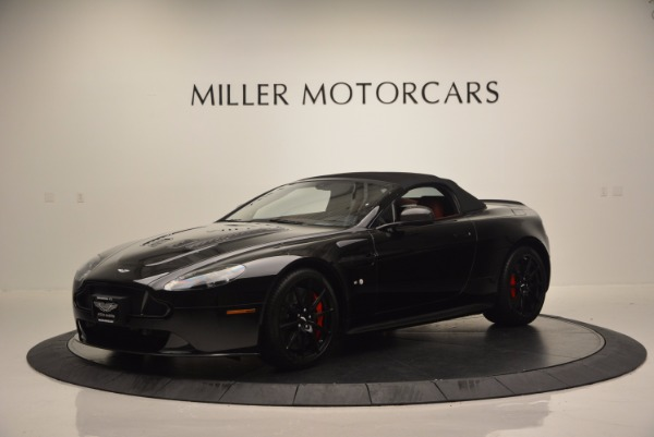 Used 2015 Aston Martin V12 Vantage S Roadster for sale Sold at Maserati of Westport in Westport CT 06880 14