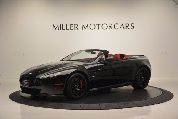 Used 2015 Aston Martin V12 Vantage S Roadster for sale Sold at Maserati of Westport in Westport CT 06880 2