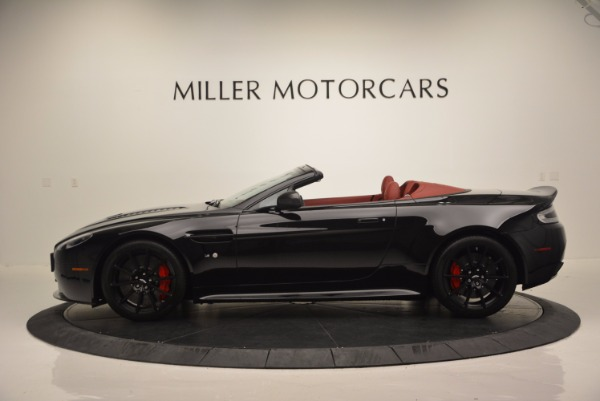 Used 2015 Aston Martin V12 Vantage S Roadster for sale Sold at Maserati of Westport in Westport CT 06880 3