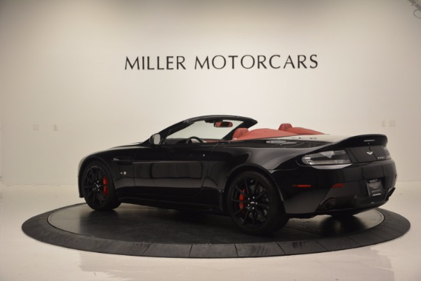 Used 2015 Aston Martin V12 Vantage S Roadster for sale Sold at Maserati of Westport in Westport CT 06880 4