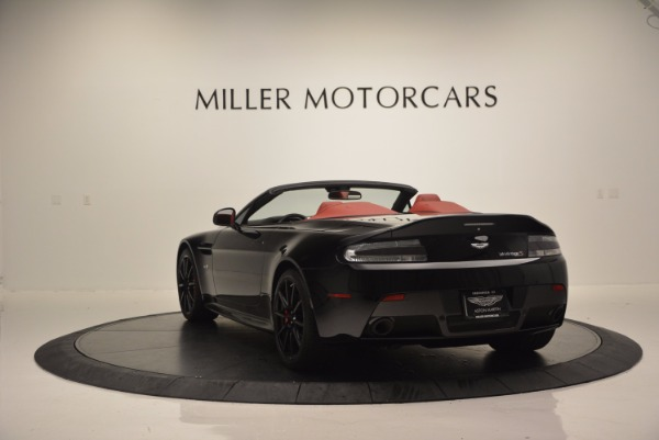 Used 2015 Aston Martin V12 Vantage S Roadster for sale Sold at Maserati of Westport in Westport CT 06880 5