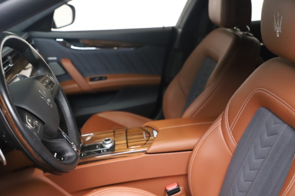 Used 2017 Maserati Quattroporte SQ4 GranLusso/ Zegna for sale $62,900 at Maserati of Westport in Westport CT 06880 14