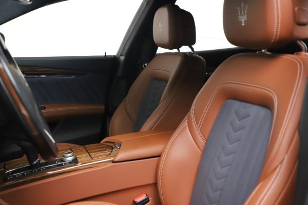 Used 2017 Maserati Quattroporte SQ4 GranLusso/ Zegna for sale $62,900 at Maserati of Westport in Westport CT 06880 15