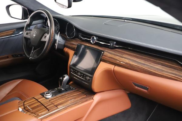 Used 2017 Maserati Quattroporte SQ4 GranLusso/ Zegna for sale $62,900 at Maserati of Westport in Westport CT 06880 19