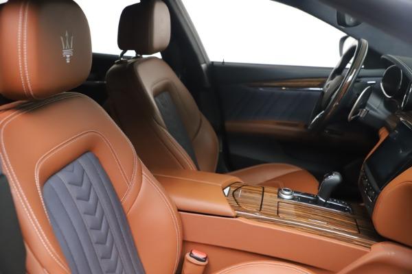 Used 2017 Maserati Quattroporte SQ4 GranLusso/ Zegna for sale $62,900 at Maserati of Westport in Westport CT 06880 20