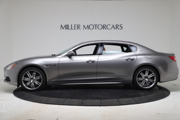 Used 2017 Maserati Quattroporte SQ4 GranLusso/ Zegna for sale $62,900 at Maserati of Westport in Westport CT 06880 3