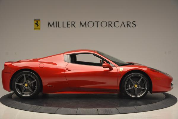Used 2013 Ferrari 458 Spider for sale Sold at Maserati of Westport in Westport CT 06880 21