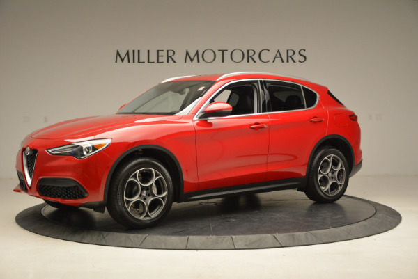 New 2018 Alfa Romeo Stelvio Q4 for sale Sold at Maserati of Westport in Westport CT 06880 2