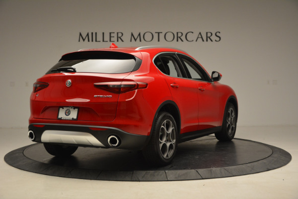 New 2018 Alfa Romeo Stelvio Q4 for sale Sold at Maserati of Westport in Westport CT 06880 7