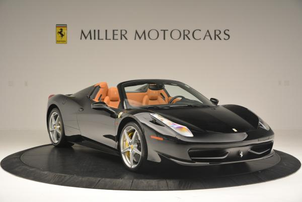 Used 2015 Ferrari 458 Spider for sale Sold at Maserati of Westport in Westport CT 06880 11