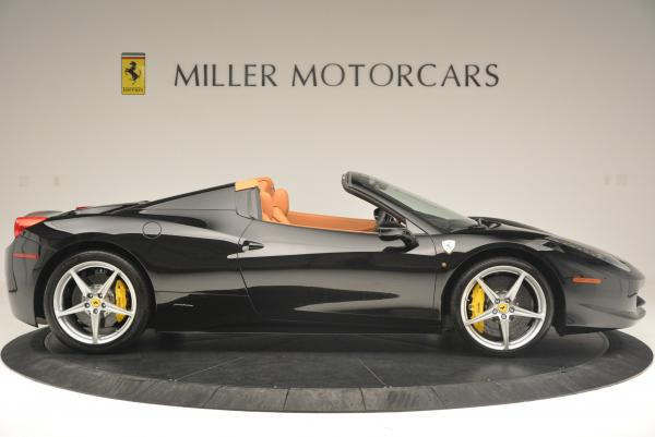 Used 2015 Ferrari 458 Spider for sale Sold at Maserati of Westport in Westport CT 06880 9