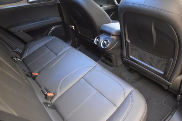 Used 2018 Alfa Romeo Stelvio Ti Q4 for sale Sold at Maserati of Westport in Westport CT 06880 21
