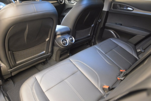 Used 2018 Alfa Romeo Stelvio Ti Q4 for sale Sold at Maserati of Westport in Westport CT 06880 24