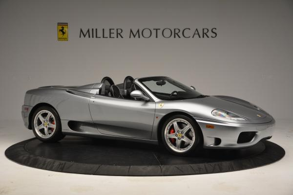 Used 2004 Ferrari 360 Spider 6-Speed Manual for sale Sold at Maserati of Westport in Westport CT 06880 10