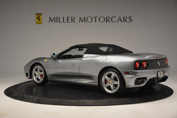 Used 2004 Ferrari 360 Spider 6-Speed Manual for sale Sold at Maserati of Westport in Westport CT 06880 16