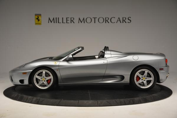 Used 2004 Ferrari 360 Spider 6-Speed Manual for sale Sold at Maserati of Westport in Westport CT 06880 3
