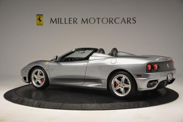 Used 2004 Ferrari 360 Spider 6-Speed Manual for sale Sold at Maserati of Westport in Westport CT 06880 4
