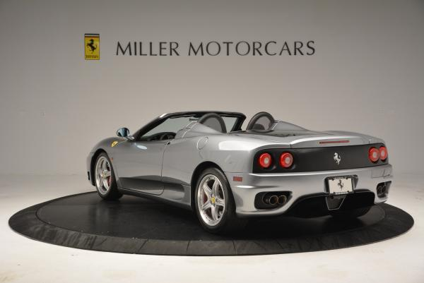 Used 2004 Ferrari 360 Spider 6-Speed Manual for sale Sold at Maserati of Westport in Westport CT 06880 5