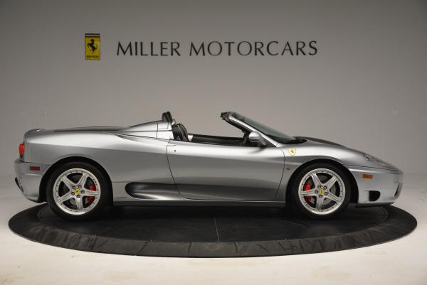 Used 2004 Ferrari 360 Spider 6-Speed Manual for sale Sold at Maserati of Westport in Westport CT 06880 9