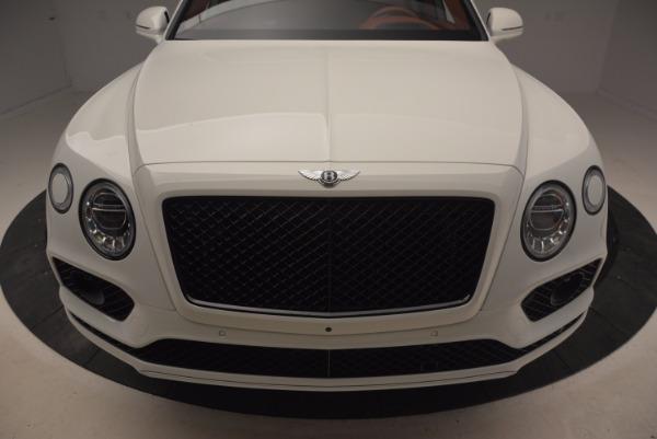New 2018 Bentley Bentayga Onyx for sale Sold at Maserati of Westport in Westport CT 06880 13