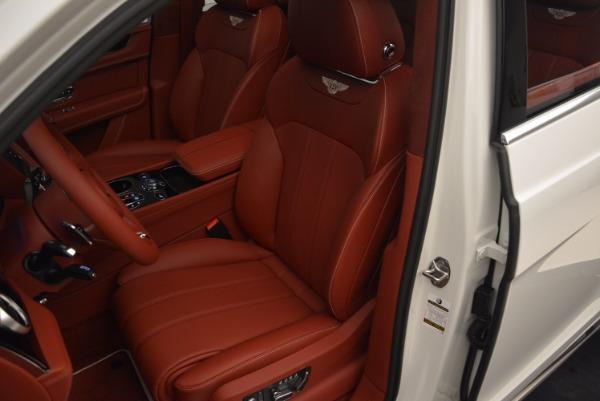 New 2018 Bentley Bentayga Onyx for sale Sold at Maserati of Westport in Westport CT 06880 28