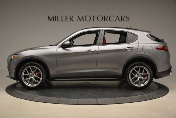 New 2018 Alfa Romeo Stelvio Ti Sport Q4 for sale Sold at Maserati of Westport in Westport CT 06880 3
