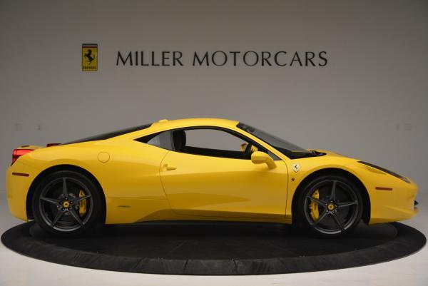 Used 2011 Ferrari 458 Italia for sale Sold at Maserati of Westport in Westport CT 06880 9