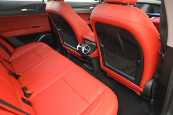 New 2018 Alfa Romeo Stelvio Q4 for sale Sold at Maserati of Westport in Westport CT 06880 22