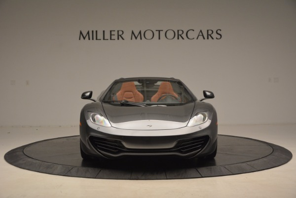 Used 2014 McLaren MP4-12C SPIDER Convertible for sale Sold at Maserati of Westport in Westport CT 06880 12