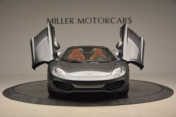 Used 2014 McLaren MP4-12C SPIDER Convertible for sale Sold at Maserati of Westport in Westport CT 06880 13