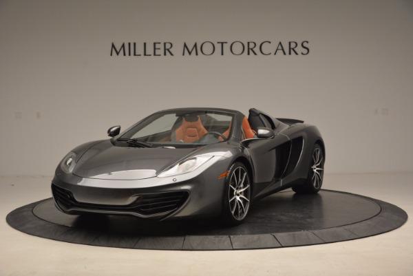 Used 2014 McLaren MP4-12C SPIDER Convertible for sale Sold at Maserati of Westport in Westport CT 06880 2