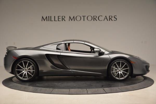 Used 2014 McLaren MP4-12C SPIDER Convertible for sale Sold at Maserati of Westport in Westport CT 06880 22