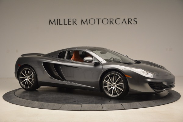 Used 2014 McLaren MP4-12C SPIDER Convertible for sale Sold at Maserati of Westport in Westport CT 06880 23