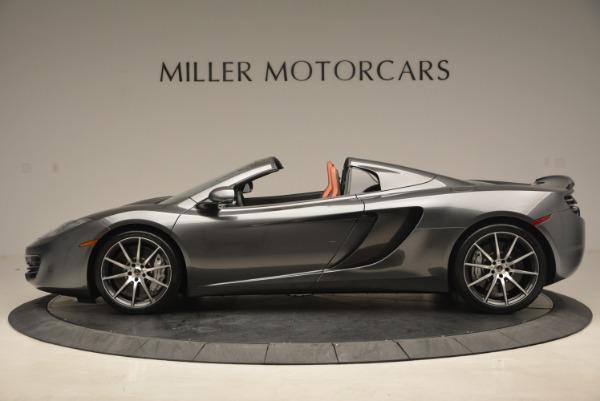 Used 2014 McLaren MP4-12C SPIDER Convertible for sale Sold at Maserati of Westport in Westport CT 06880 3