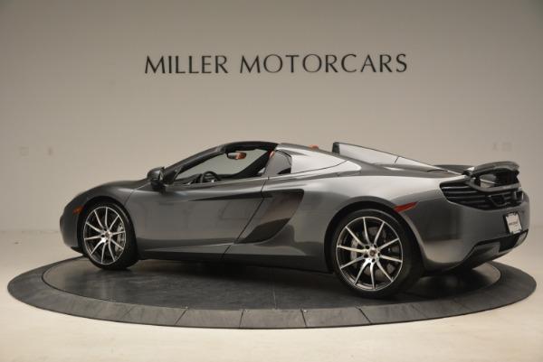 Used 2014 McLaren MP4-12C SPIDER Convertible for sale Sold at Maserati of Westport in Westport CT 06880 4