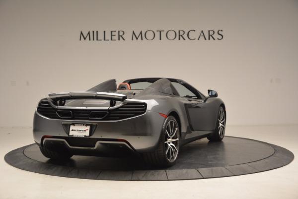 Used 2014 McLaren MP4-12C SPIDER Convertible for sale Sold at Maserati of Westport in Westport CT 06880 7