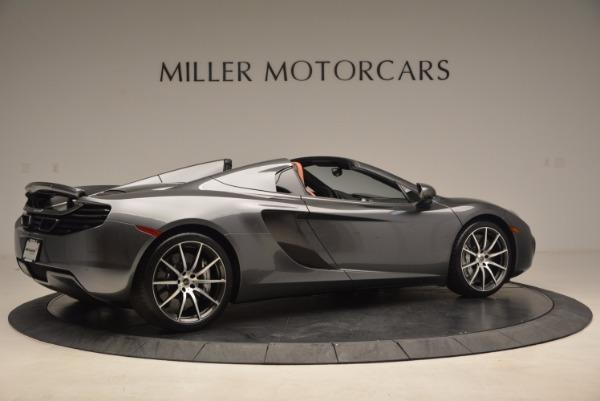 Used 2014 McLaren MP4-12C SPIDER Convertible for sale Sold at Maserati of Westport in Westport CT 06880 8