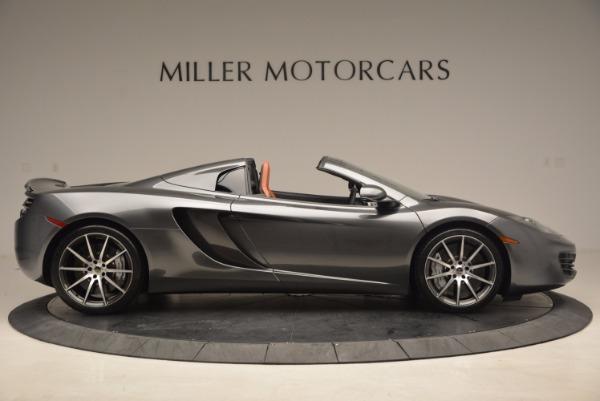 Used 2014 McLaren MP4-12C SPIDER Convertible for sale Sold at Maserati of Westport in Westport CT 06880 9