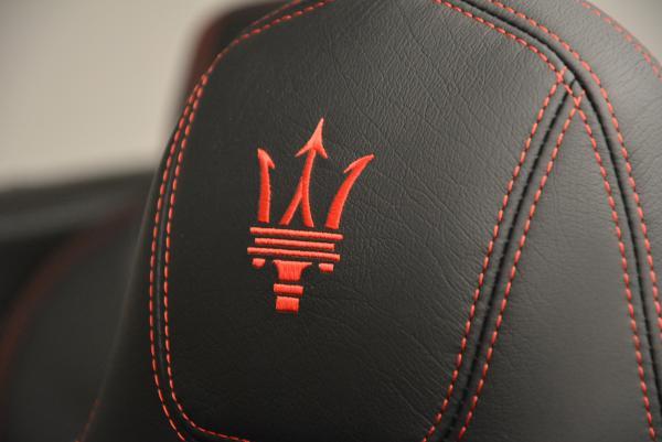 New 2017 Maserati GranTurismo Cab Sport for sale Sold at Maserati of Westport in Westport CT 06880 23