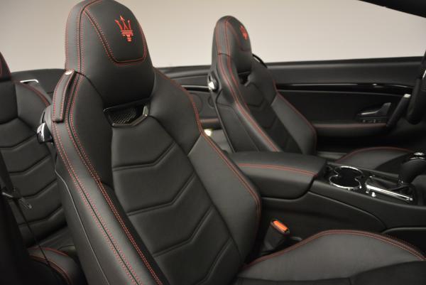 New 2017 Maserati GranTurismo Cab Sport for sale Sold at Maserati of Westport in Westport CT 06880 27