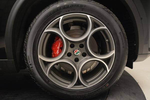 New 2018 Alfa Romeo Stelvio Sport Q4 for sale Sold at Maserati of Westport in Westport CT 06880 25