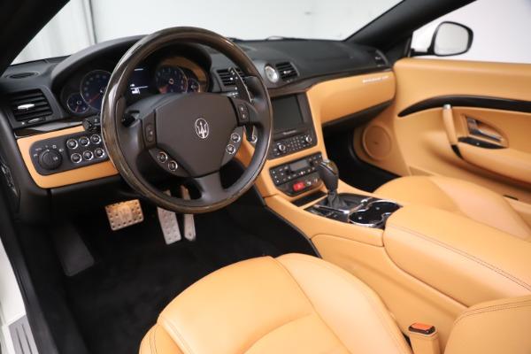 Used 2017 Maserati GranTurismo Convertible Sport for sale $84,900 at Maserati of Westport in Westport CT 06880 23