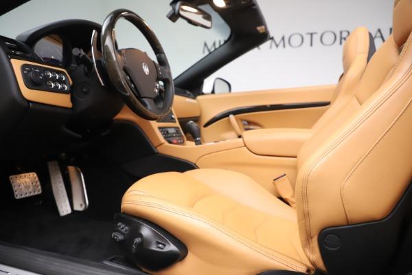 Used 2017 Maserati GranTurismo Convertible Sport for sale $84,900 at Maserati of Westport in Westport CT 06880 24