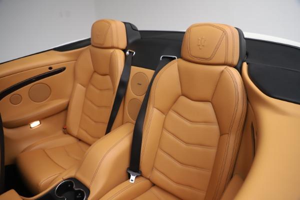 Used 2017 Maserati GranTurismo Convertible Sport for sale $84,900 at Maserati of Westport in Westport CT 06880 28