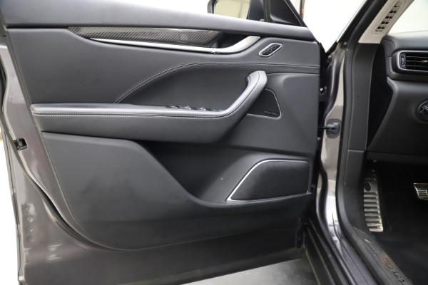 Used 2018 Maserati Levante SQ4 GranSport for sale $55,900 at Maserati of Westport in Westport CT 06880 17