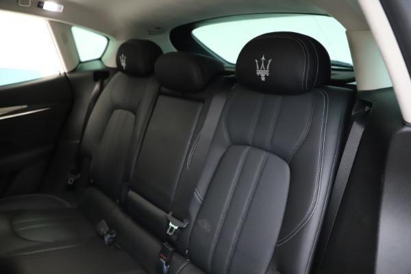 Used 2018 Maserati Levante SQ4 GranSport for sale $55,900 at Maserati of Westport in Westport CT 06880 18