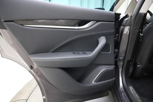 Used 2018 Maserati Levante SQ4 GranSport for sale $55,900 at Maserati of Westport in Westport CT 06880 21