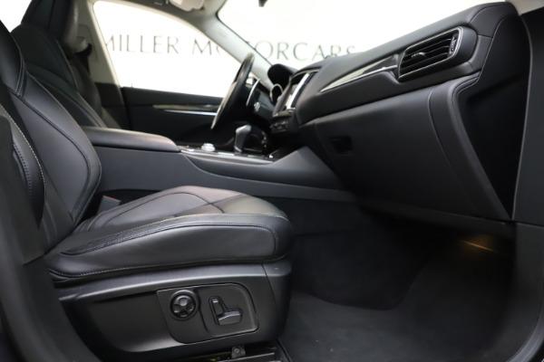 Used 2018 Maserati Levante SQ4 GranSport for sale $55,900 at Maserati of Westport in Westport CT 06880 23