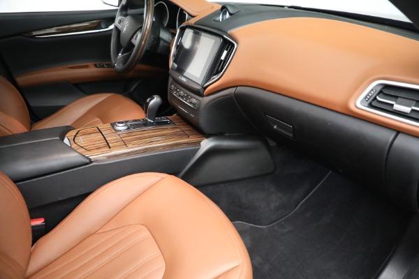 Used 2018 Maserati Ghibli S Q4 GranLusso for sale $56,900 at Maserati of Westport in Westport CT 06880 19
